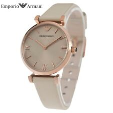 EMPORIO ARMANI AR1769 LADIES ROSE GOLD GIANNI T-BAR WATCH