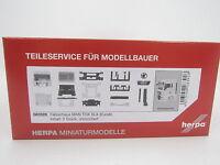 Herpa 083928  Fahrerhaus MAN TGX XLX Euro 6 ohne WLB & Dachspoiler 1:87 H0 Neu
