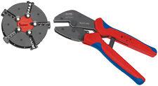 "KNIPEX 973302 5"" MultiCrimp Crimping Tool Piler"