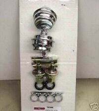 VAC U PAN KIT ...BREATHERS VALVES  WELD IN TUBES CHEVY FORD MOPAR  2050