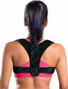 Quality Adjustable Posture Corrector for Upper Back, Shoulder And Spine Support