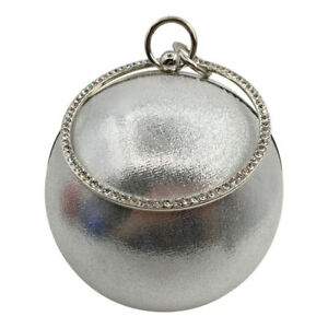 Ball Shape Tote Party Womens Fashion Purse Bag Prom Evening Clutch Wallet Dinner