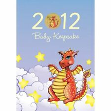 2012  Tuvalu Baby Keepsake - Lunar Year of the Dragon $1 coin