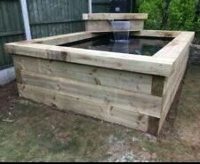 Sleeper pond with blade 2.3m x 2.3m constructed on site within 40 mile radius