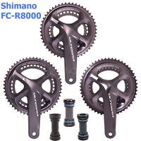 Shimano Ultegra FC-R8000 Road Bike Crankset 11S 165/170/172.5/175mm,50/52/53T