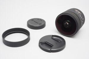 Sigma EX 8mm f/3.5 DG Fisheye Lens, for Canon EF Mount, Auto Focus