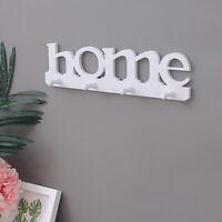 4 Hooks Key Hanger Holder Storage Wall Hook Rack Organizer Mount Home Decoration