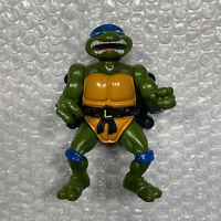 TMNT Action Figure Talking Ninja Turtles City Sewer Toy Leonardo Vintage 1991