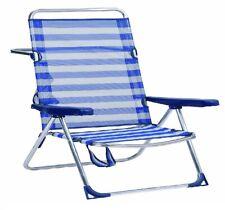 Silla plegable expansible para Playa Piscina camping aluminio 2 AÑOS DE GARANTIA