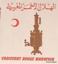 CROISSANT ROUGE MAROC MOROCCO ENVELOPPE PREMIER JOUR FDC MA940