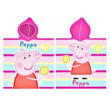 Peppa Pig Peppa Pig Girls Bath Poncho Poncho Bath Towel Bathrobe Beach Poncho