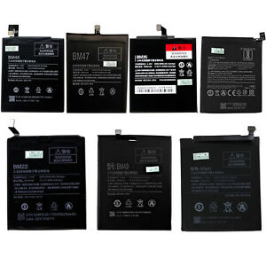 Battery For Xiaomi Redmi Hongmi Note 3 4 Max BM46 BM47 BM35 BM22 BM49 BN41 BN43