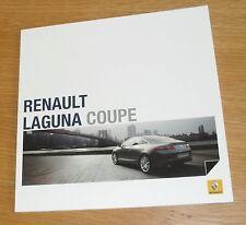 Renault Laguna Coupe Brochure 2010 - 2.0 Turbo 205 3.5 V6 240 dci 150 180 V6 235