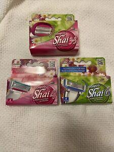 Dorco Shai Razor Blades 3 Unopened Packs 12 Cartridges