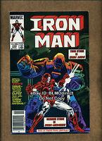 1985 Iron Man #200 1st Silver Centurian First Print Newsstand Marvel Iron Monger