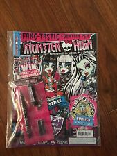Monster High UK magazine issue 09 with a fountain pen