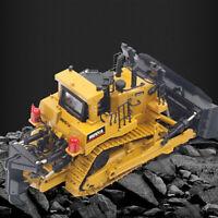 AM_ EG_ FJ- LN_ 1/50 Diecast Metal Crawler Bulldozer Engineering Car Model Educa