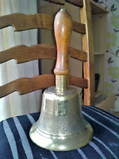 WW2 ✨ Home Front ARP Wardens Large Hand Bell with Post War History ✨ HX Halifax