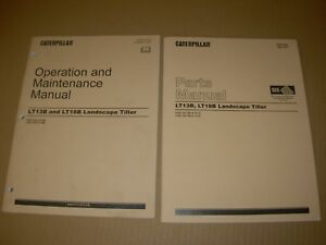 Caterpillar LT13B LT18B Landscape Tiller Parts & Operation/Maintenance Manuals