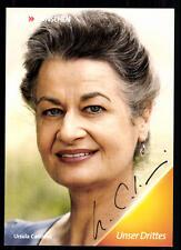 Ursula Cantieni Die Fallers Autogrammkarte Original Signiert ## BC 16684