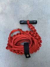 T Bar Wakesurf Rope by Tantrum Tow Ropes Red