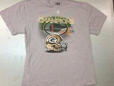 Green Bay Packers, Super Bowl 45 Champions T-Shirt (XX-Large) Ash Gray
