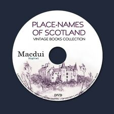 Place names of Scotland – Vintage E-books Collection 14 Volumes PDF 1 DVD Scots