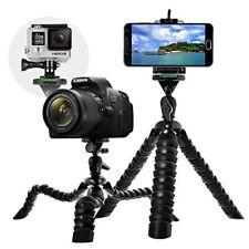 """12"""" Mobile Flessibile Adattatore treppiede GoPro con wrapable Gamba piastra a sgancio rapido"""