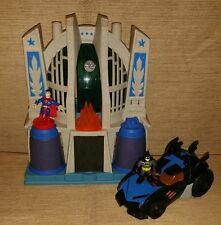 Dc Super Friends Imaginext Hall of Justice Superman Batman Playset