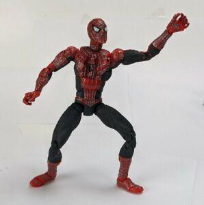 """Marvel Legends Spiderman 2 Tobey Maguire Raimi Movie Super Poseable 6"""" Figure"""