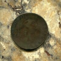 G. BRITAIN- HISTORICAL UNUSUAL GEORGE III COPPER HALF PENNY, 1799, KM# 647, AE34