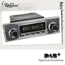 "RETROSOUND ""SAN DIEGO"" DAB+ Radio im ""Becker"" Design Bluetooth USB AUX-IN Radio"