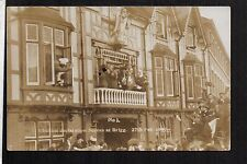 Brigg - Election Declaration Scenes 1907 - real photographic postcard