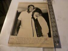 Vintage Wire Press Photo-Dennis Connor(Skipper Stars n Stripes)Americas Cup 1987