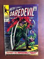 Daredevil #32 (1967) 7.0 FN Marvel Key Issue Comic Silver Age Owl Hyde Cobra App