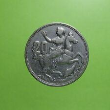 NF* Grecia Greece 20 dracme dracmai - argento silver 1960 §261.1