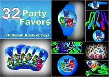 PJ Masks - 32 Party Favors Combo-Toys Birthday Prizes Pinata Pack Loot Bags