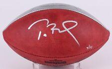 TOM BRADY Autographed SB 51 Silver Championship Logo Football STEINER LE 18/51