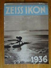ZEISS IKON 1936 - Catalogue 24 pages - Original
