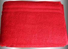 2 Stück flauschige  VOSSEN Duschtücher purpur 67  x 140 cm