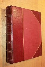 TRILBY GEORGE DU MAURIER 121 ILLUSTRATED LEATHER 1895 ANTIQUE OSGOOD