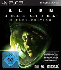 Alien: isolation-Ripley Edition (Sony Playstation 3, 2014, DVD Box)