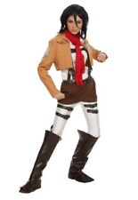 ATTACK ON TITAN MIKASA ACKERMANN COSTUME Size XL Cosplay Halloween Anime