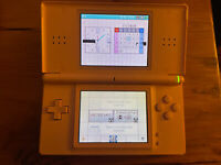 Nintendo DS Lite Metallic Pink Handheld Game System Console AS-IS PARTS / REPAIR