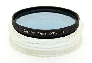 CANON 55mm CCB4 BLUE FILTER - UK DEALER