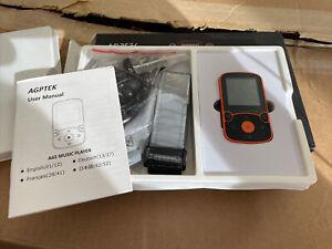 Music 32GB MP3 & Video Player LCD Display Black A65X Electronic Running Jogging