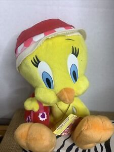 Vtg Looney Tunes Tweety Bird Plush Russell Stover Candies Holder/ Card Hold NWT