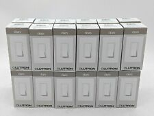 Lutron Claro Ca-1Ps-Wh 15A General Purpose Switch - White - Lot of 24 -Nr4745