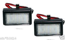 2x LED Illuminazione Targa MERCEDES BENZ ML GL w164 x164 2x18smd Xenon Bianco