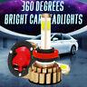 4-Seiten 260W H11 H8 H9 LED Scheinwerfer High Abblendlicht Birnen 48000LM 6000K